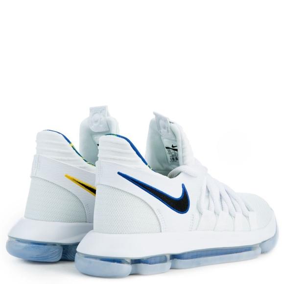 online retailer 50fb5 2aa62 Nike Zoom KD 10 White/Royal Blue Boutique